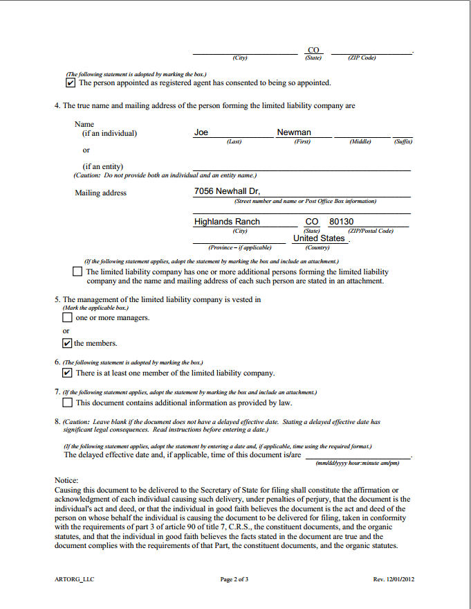 Регистрация компании в USA для хайп проекта
